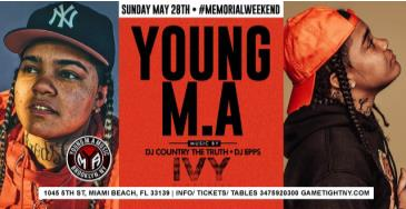 Young Ma at Ivy Nightclub MDW 2017: Main Image