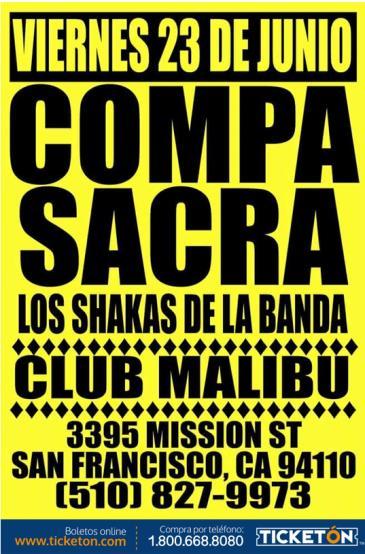 EL COMPA SACRA Y LOS SHAKAS: Main Image