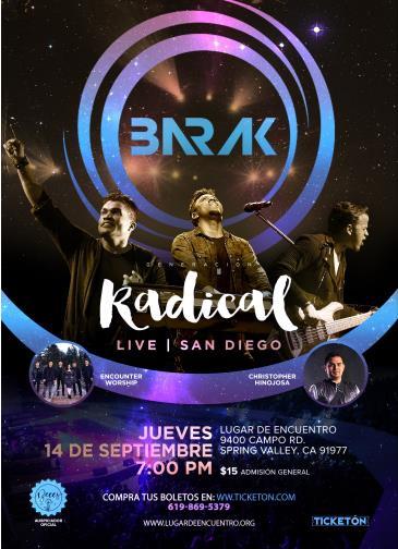BARAK GENERACION RADICAL LIVE: Main Image