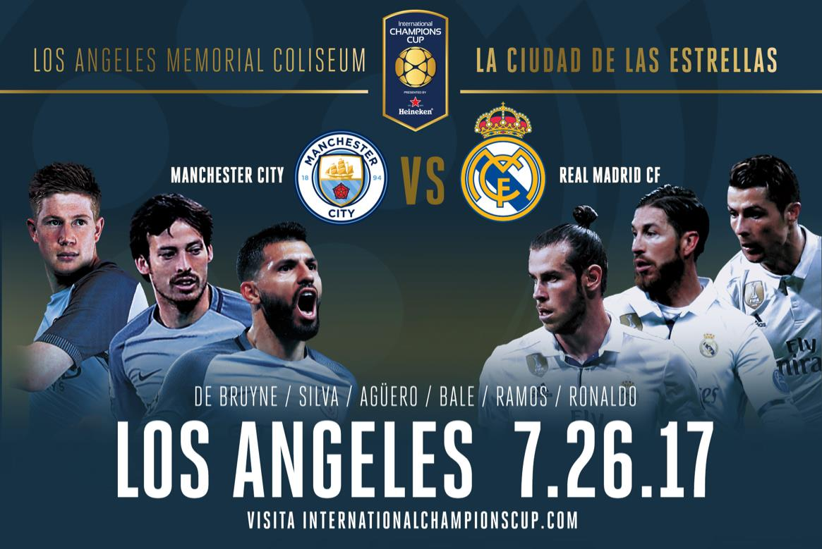 Resultado de imagen para real madrid vs manchester city international champions cup