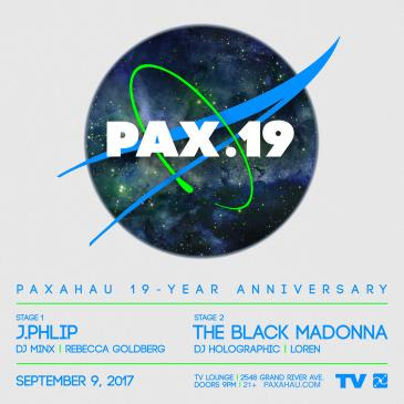Paxahau 19 Year Anniversary: Main Image