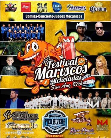 FESTIVAL DE MARISCOS & MICHELADAS: Main Image