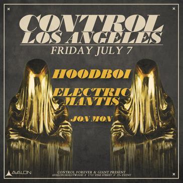 Hoodboi, Electric Mantis, Jon Mon: Main Image