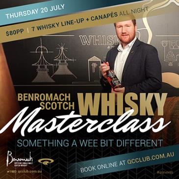 "Benromach Scotch Whisky Master Class – ""Something a wee bit: Main Image"