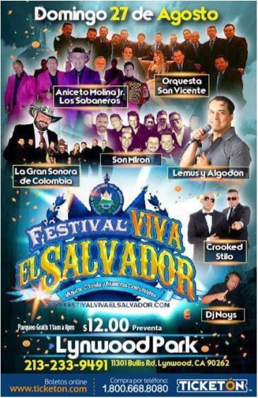 FESTIVAL VIVA EL SALVADOR: Main Image