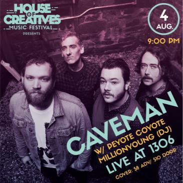 HOC Music Fest Presents: CAVEMAN: Main Image