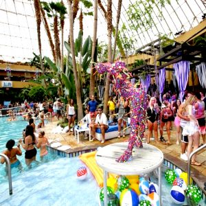 Oscar G And Dj Camilo Bottagra Brunch Harrahs Pool Party