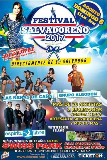 FESTIVAL SALVADOREÑO 2017: