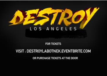 Destroy LA - Indoor Festival: Main Image