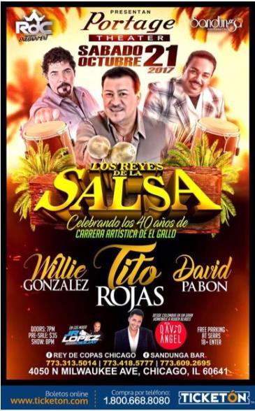 LOS REYES DE LA SALSA: Main Image