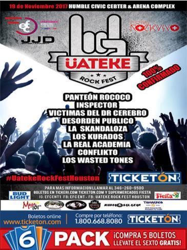 Üateke Rock Fest: Main Image