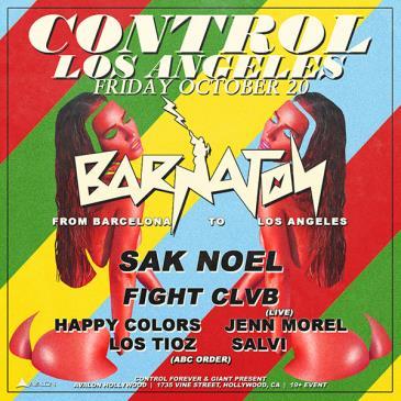 Barnaton Records Night: Sak Noel, Fight Clvb: Main Image