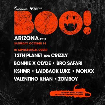 BOO! AZ 2017: Main Image