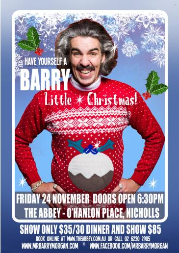 Have Yourself a Barry Little Christmas: Main Image