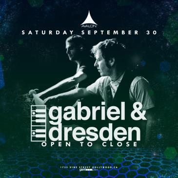 Gabriel & Dresden - Open to Close: Main Image