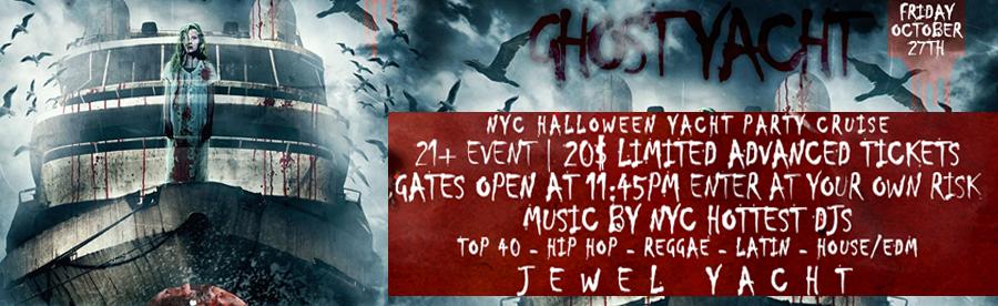 Halloween Cruise Tickets Boat Party | GametightNY.com