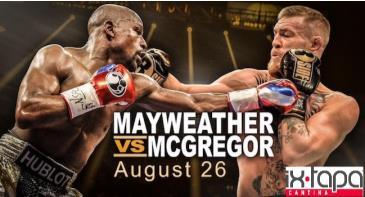 MAYWEATHER vs MCGREGOR - LIVE VIEWING PARTY IXTAPA PASADENA: Main Image