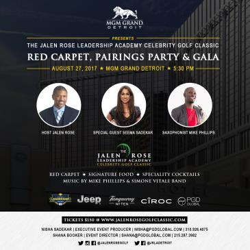 The Jalen Rose Gala & Red Carpet Pairings Party: Main Image
