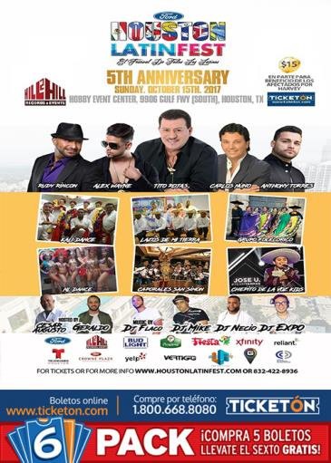 HOUSTON LATIN FEST: Main Image