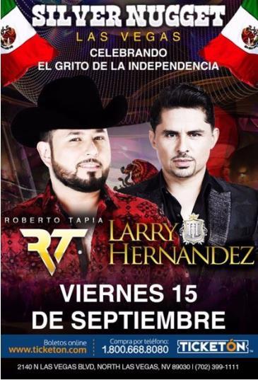 ROBERTO TAPIA & LARRY HERNANDEZ EN LAS VEGAS: Main Image