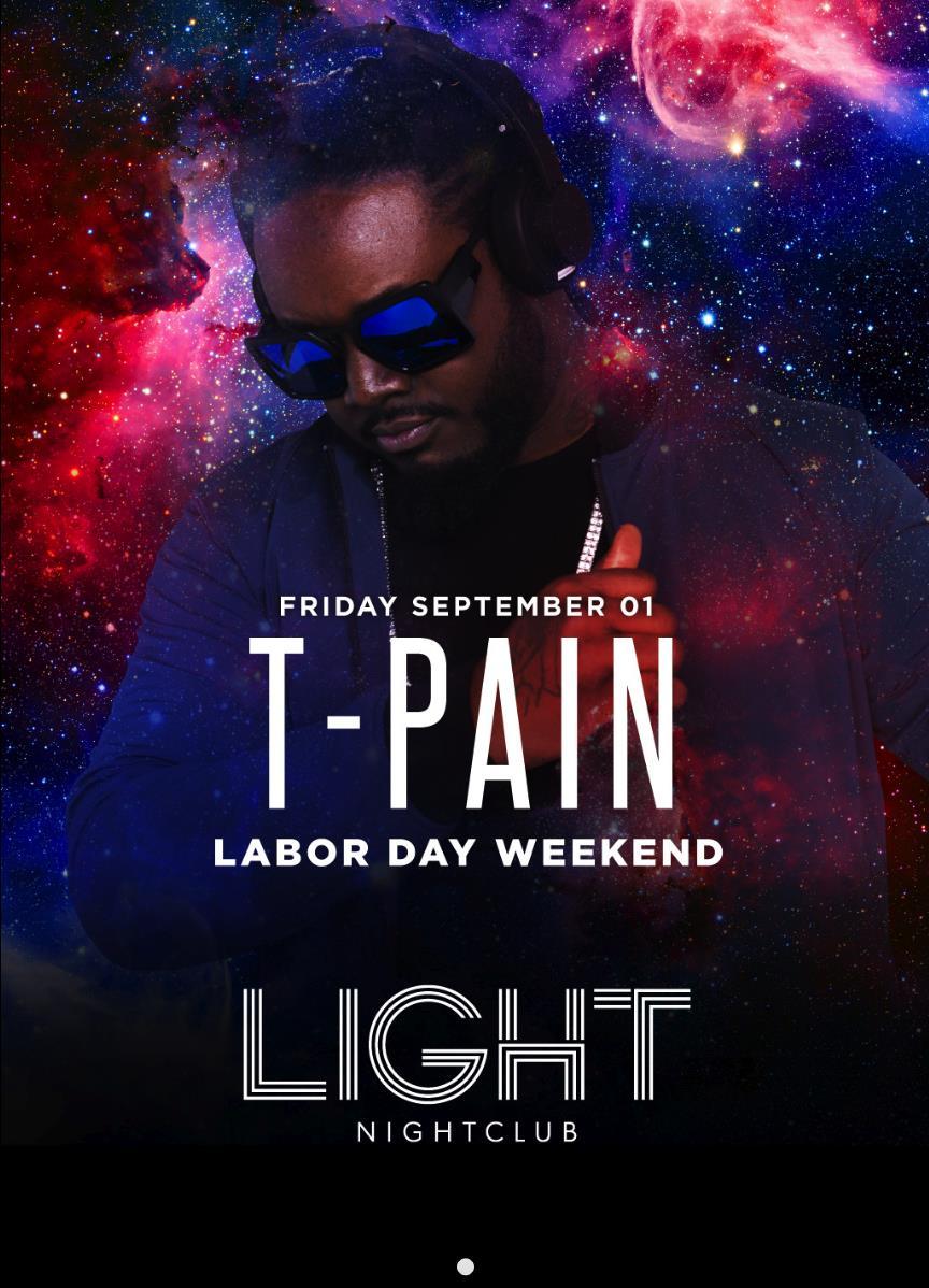 T Pain At The LIGHT Vegas | LDW 2017: Main Image