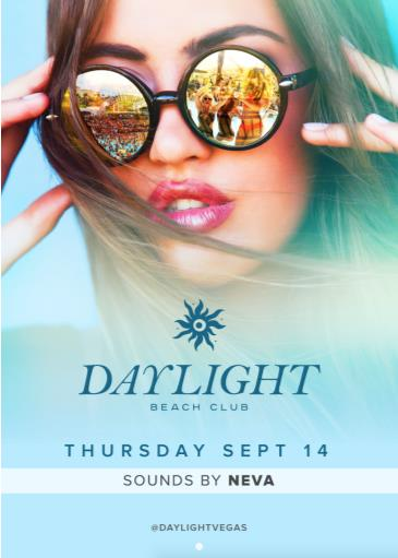 DJ Neva at DAYLIGHT Beach Club: Main Image