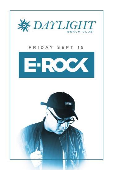DJ E-Rock at DAYLIGHT Beach Club: Main Image