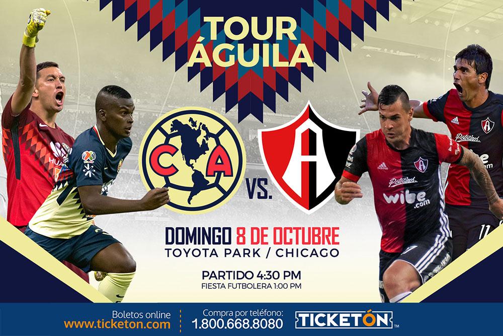 dfa8ad38de5 Club America vs Atlas Chicago Tickets Boletos Toyota Park