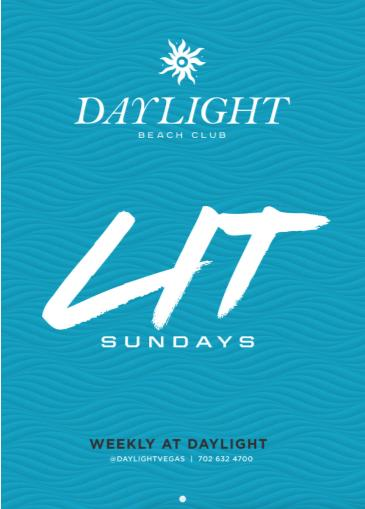 Justin Credible at DAYLIGHT Beach Club: Main Image