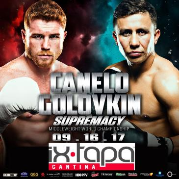 CANELO vs TRIPLE G - FIGHT NIGHT VIEWING PARTY: Main Image
