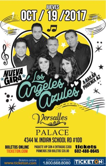 LOS ANGELES AZULES Y MAS INVITADOS: Main Image