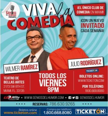 VIVA LA COMEDIA: Main Image