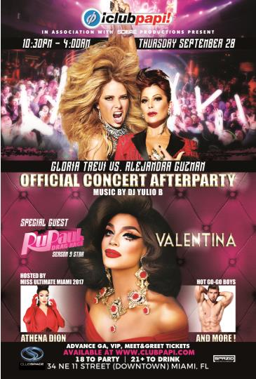 Club Papi - Valentina Live @ Gloria vs Alejandra After Party: Main Image