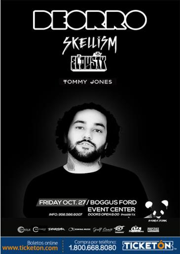 DEORRO, SKELLISM, EL DUSTY & TOMMY JONES: Main Image