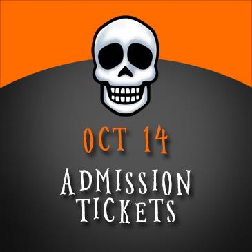 October 14 Admission: Main Image