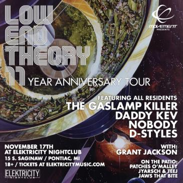 LOW END THEORY W/ THE GASLAMP KILLER: Main Image