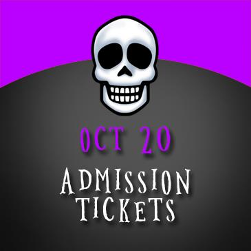 October 20 Admission: Main Image