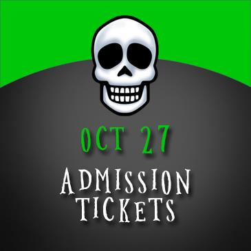 October 27 Admission: Main Image