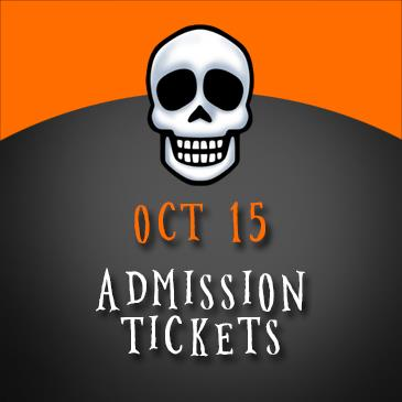 October 15 Admission: Main Image