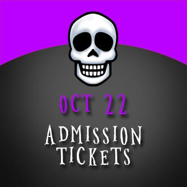 October 22 Admission: Main Image