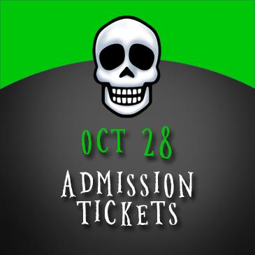 October 28 Admission: Main Image