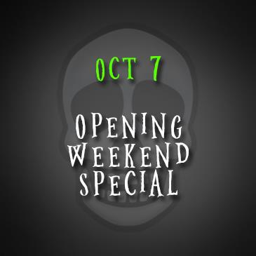 October 7: Opening Weekend Special!: Main Image