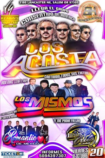 LOS ACOSTA-LOS MISMOS EN SALEM: Main Image