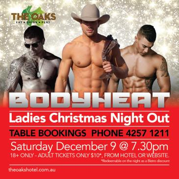Bodyheat: Ladies Christmas Night Out-img