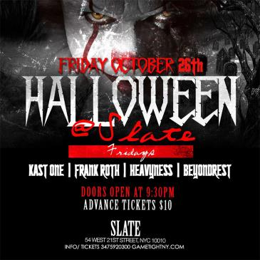 Halloween Party at Slate NYC 2018: Main Image