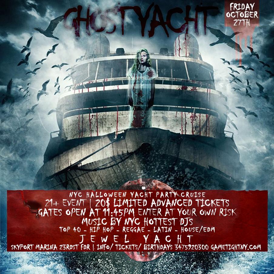 Halloween Boat Parties in NYC | Gametightny.com