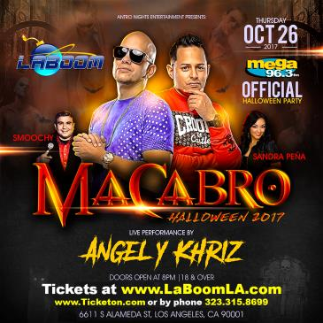 MEGA 96.3FM OFFICIAL HALLOWEEN CON ANGEL Y KHRIZ: Main Image