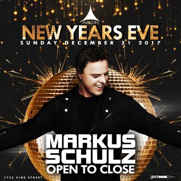 NYE - Markus Schulz - Open to Close: Main Image