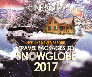 Travel Package to SnowGlobe 2017: Main Image