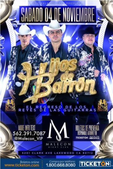 HIJOS DE BARRON: Main Image